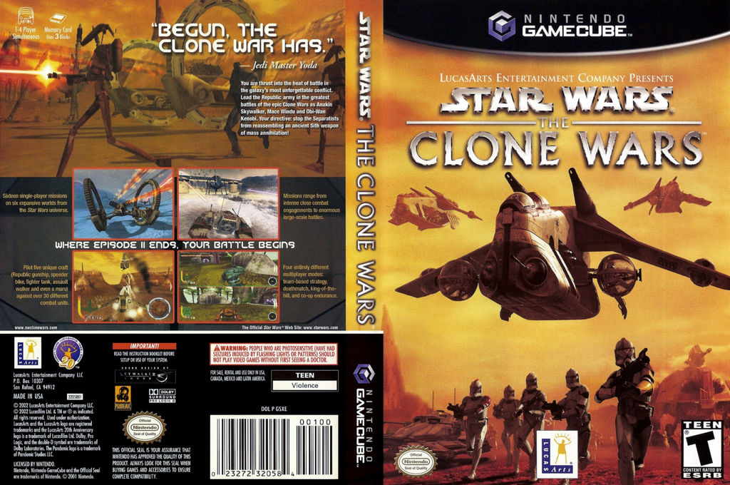 Star Wars: The Clone Wars Array coverfullHQ (GSXE64)