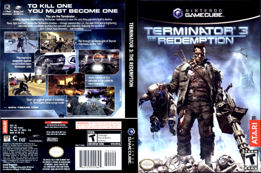 Terminator 3: The Redemption Wii coverfullHQ (GT6E70)