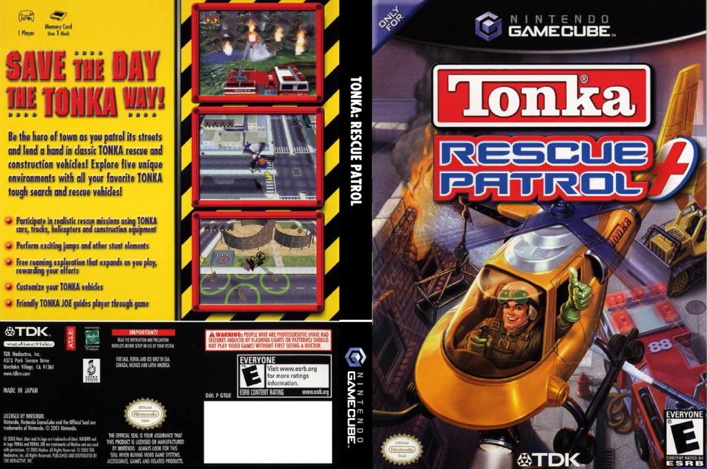 Tonka: Rescue Patrol Wii coverfullHQ (GTQE6S)