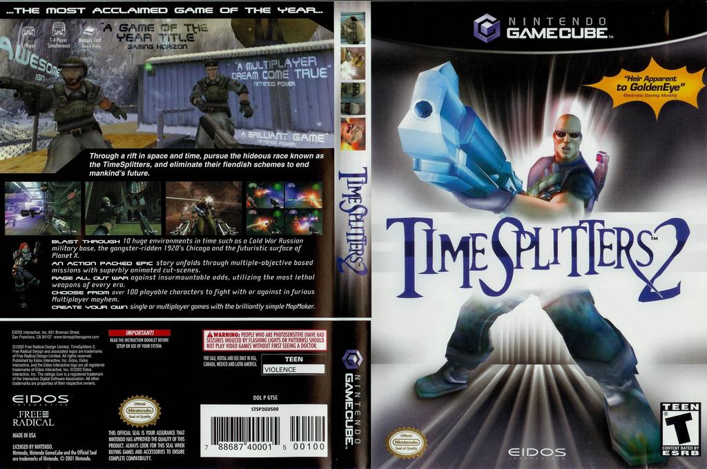 TimeSplitters 2 Wii coverfullHQ (GTSE4F)