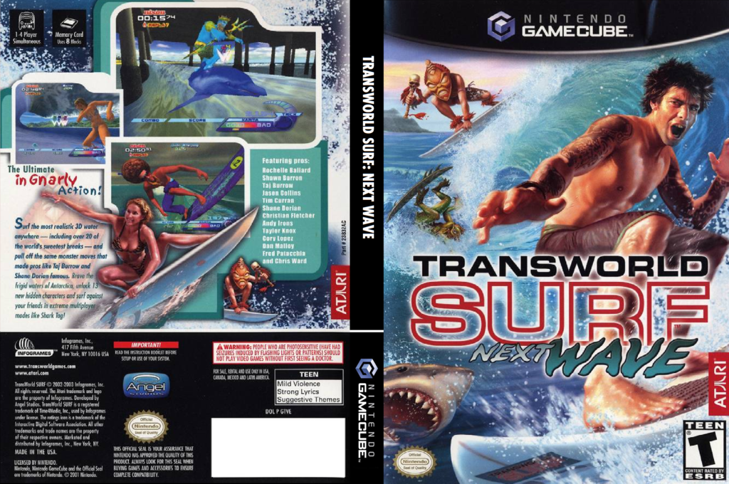 Transworld Surf: Next Wave Wii coverfullHQ (GTVE70)