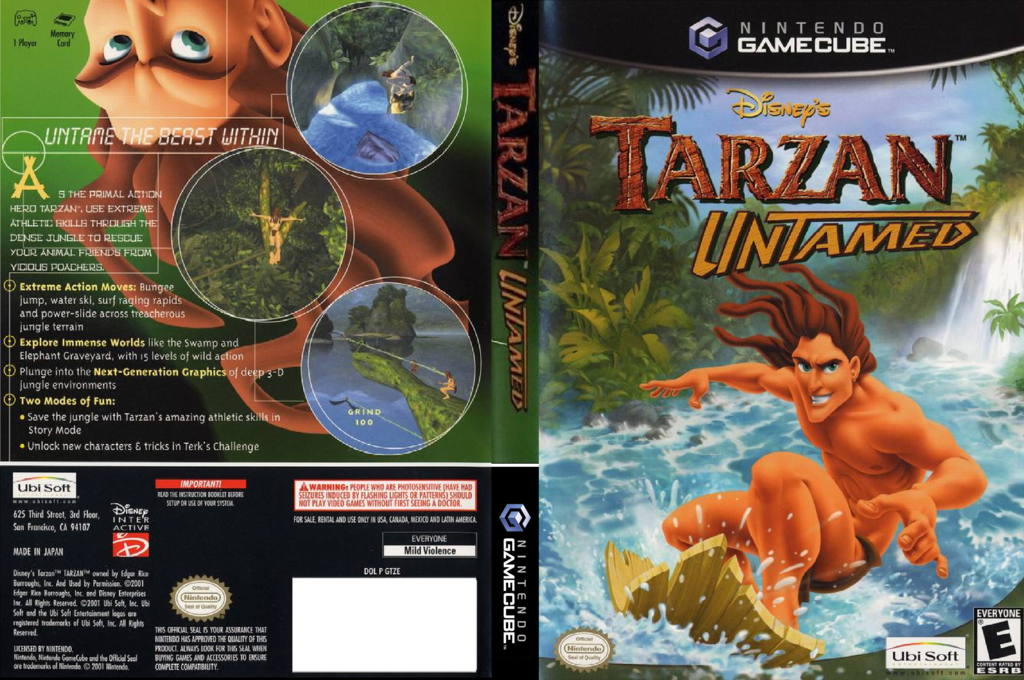 Tarzan Untamed Array coverfullHQ (GTZE41)