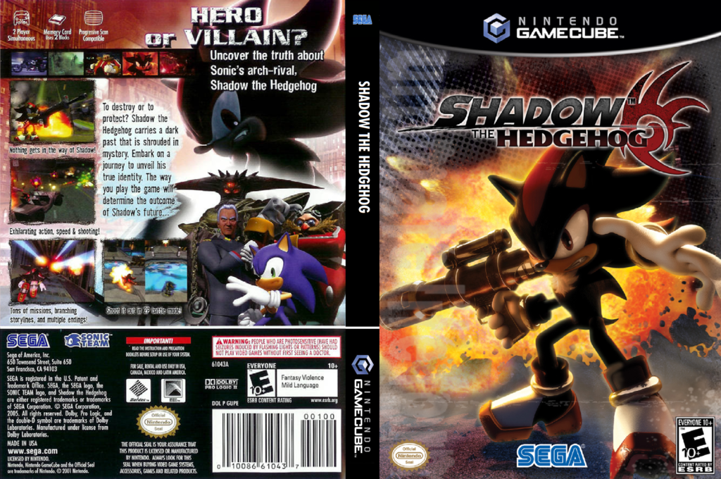 Shadow the Hedgehog Wii coverfullHQ (GUPE8P)