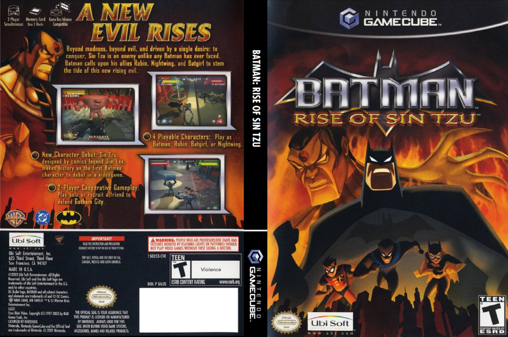 Batman: Rise of Sin Tzu Wii coverfullHQ (GUZE41)