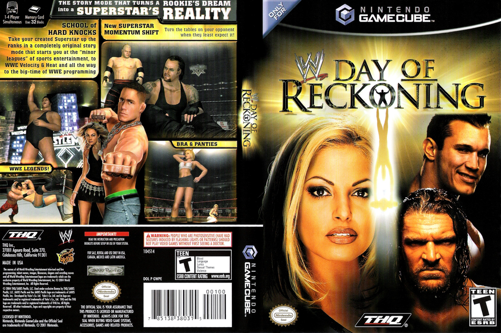 WWE Day of Reckoning Wii coverfullHQ (GWPE78)