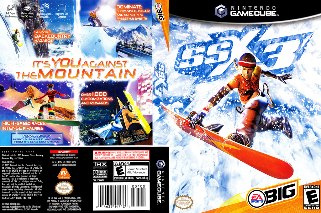 SSX 3 Wii coverfullHQ (GXBE69)