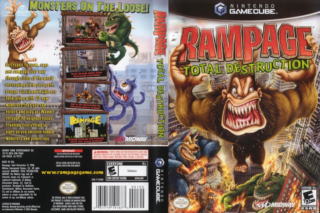 Rampage Total Destruction Wii coverfullHQ (GXNE5D)