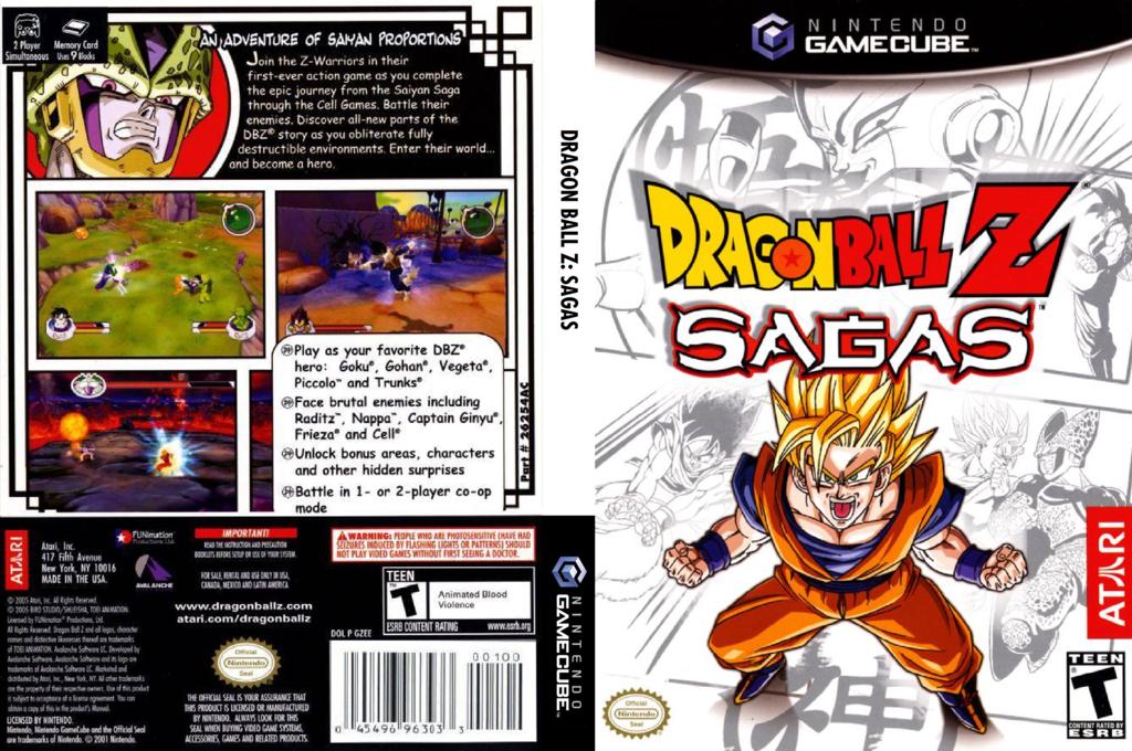 Dragon Ball Z: Sagas Wii coverfullHQ (GZEE70)