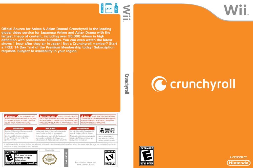 Crunchyroll Wii coverfullHQ (HC4E)