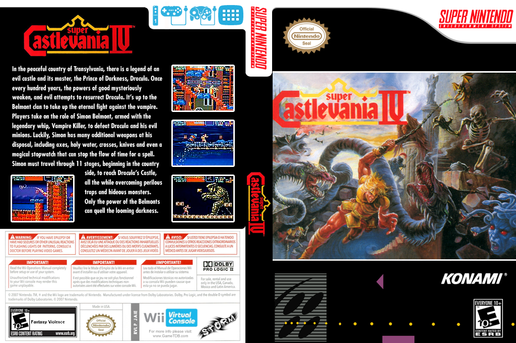 Super Castlevania IV Wii coverfullHQ (JAIE)