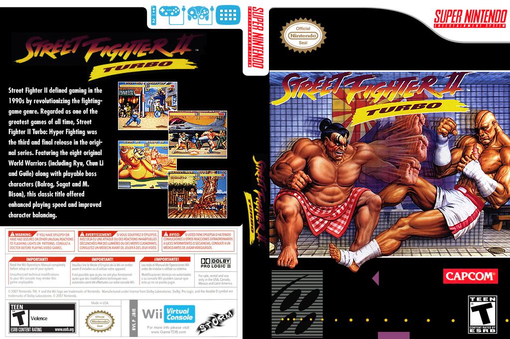 Street Fighter II Turbo: Hyper Fighting Wii coverfullHQ (JBIE)