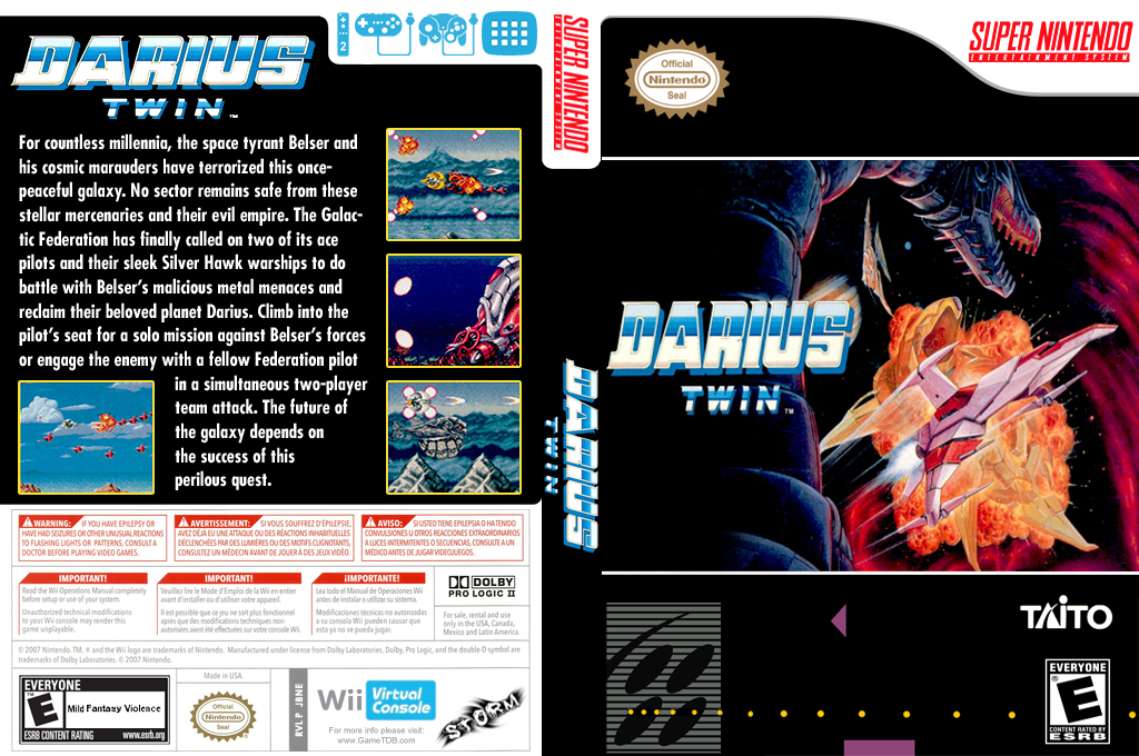 Darius Twin Wii coverfullHQ (JBNE)