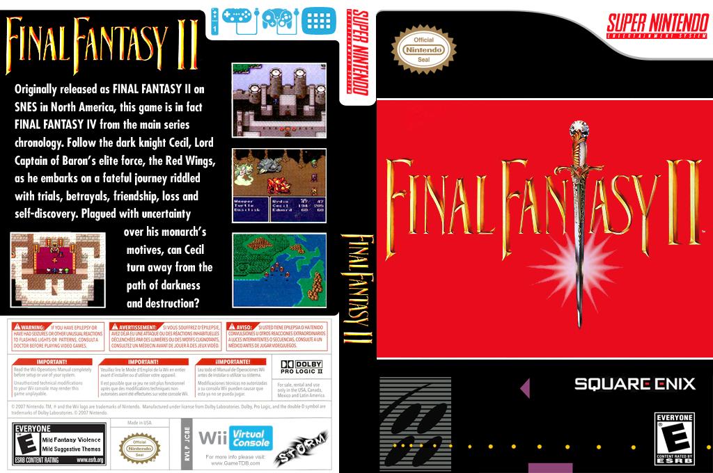 Final Fantasy II Wii coverfullHQ (JC8E)
