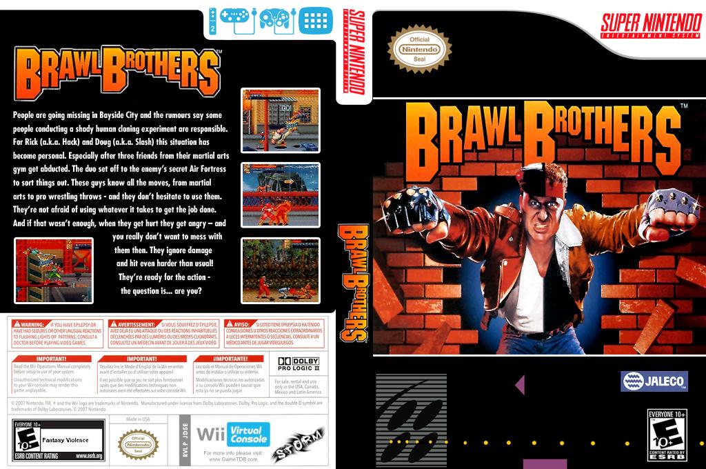 Brawl Brothers Wii coverfullHQ (JD5E)