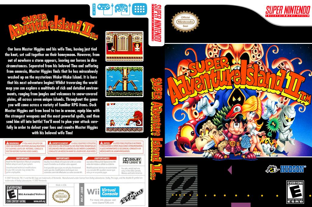Super Adventure Island II Wii coverfullHQ (JD8E)