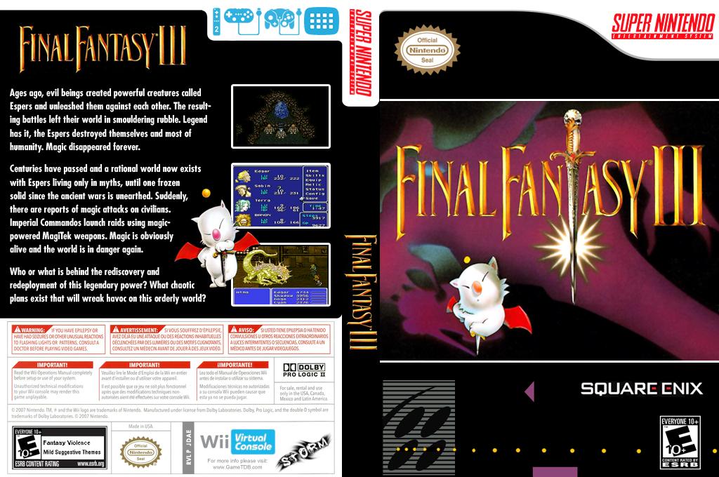 Final Fantasy III Wii coverfullHQ (JDAE)