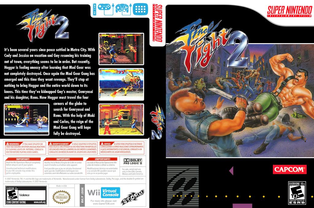 Final Fight 2 Wii coverfullHQ (JDDE)