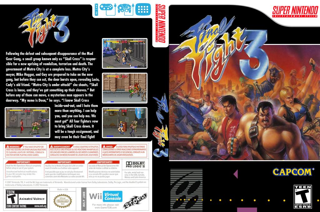 Final Fight 3 Wii coverfullHQ (JDEE)