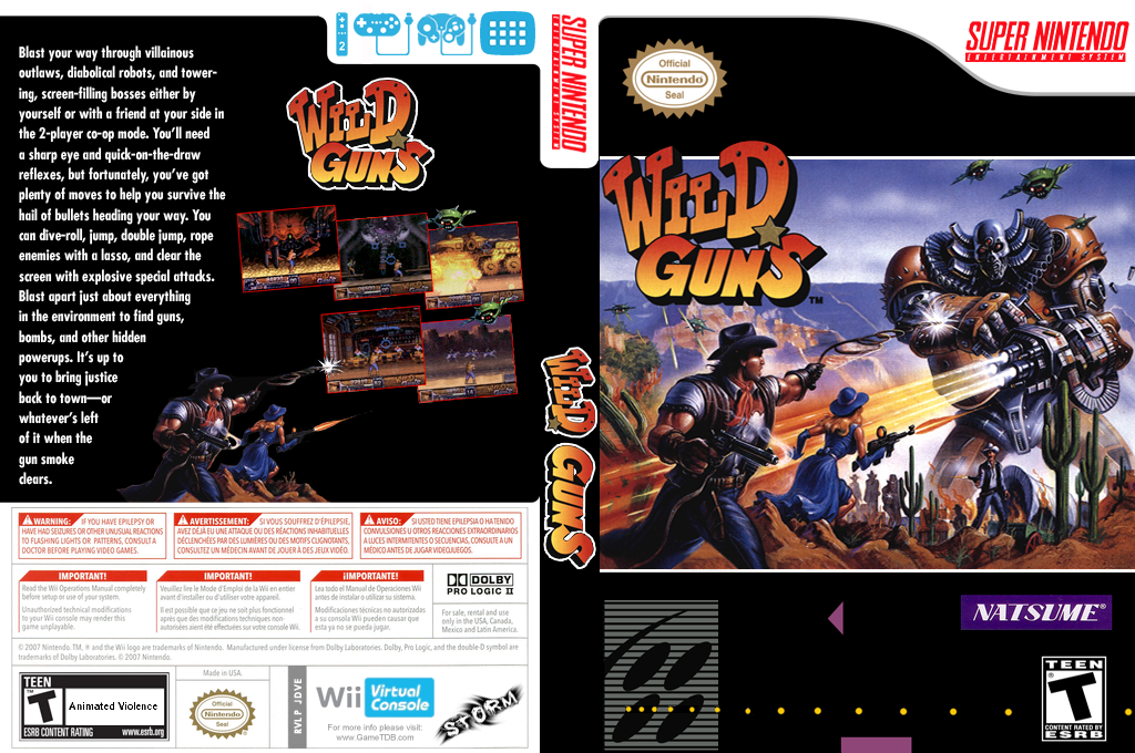 Wild Guns Wii coverfullHQ (JDVE)