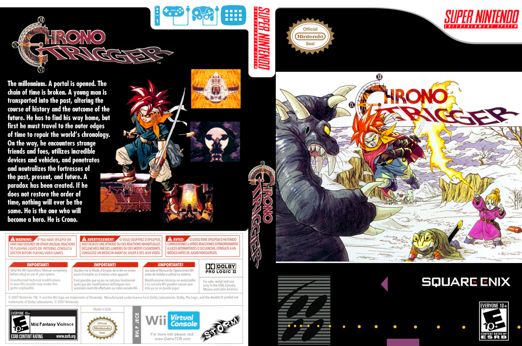Chrono Trigger Wii coverfullHQ (JECE)