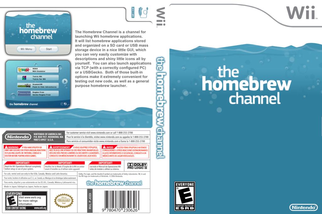Homebrew Channel Array coverfullHQ (JODI)