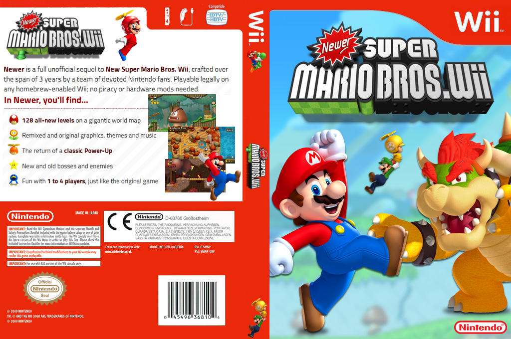 Newer Super Mario Bros. Wii Wii coverfullHQ (KMNE03)