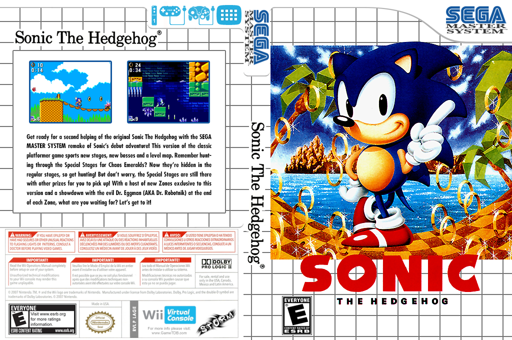 Sonic the Hedgehog Array coverfullHQ (LAGE)