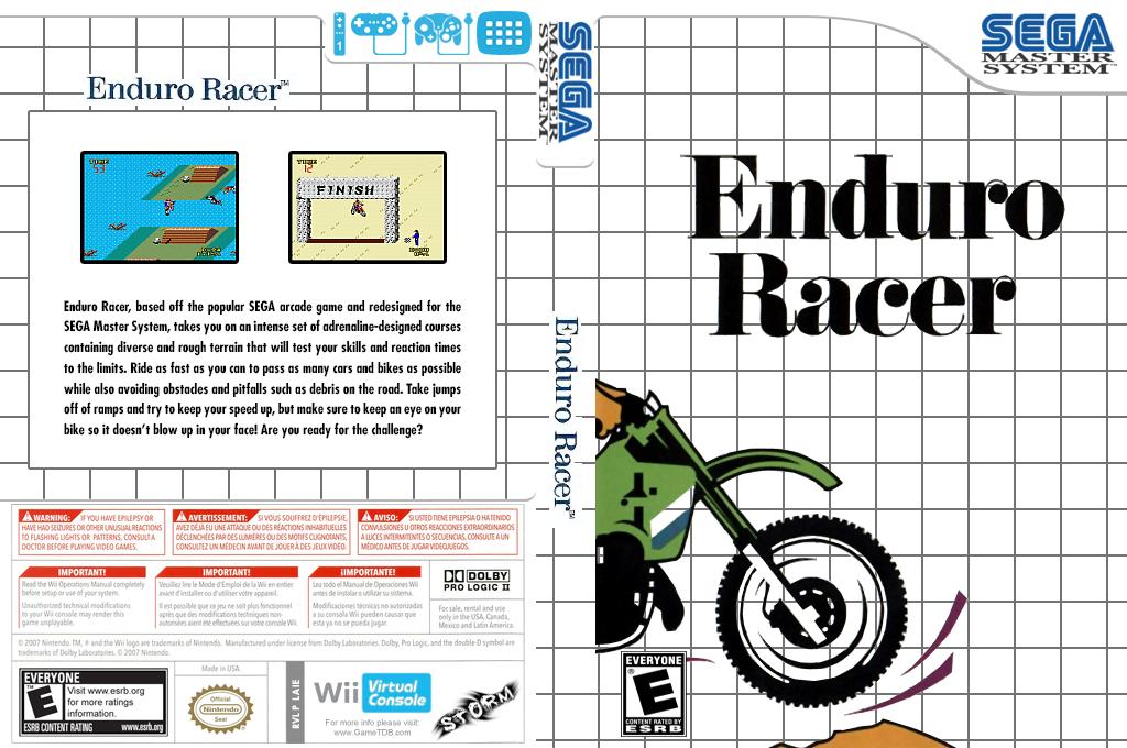 Enduro Racer Wii coverfullHQ (LAIE)