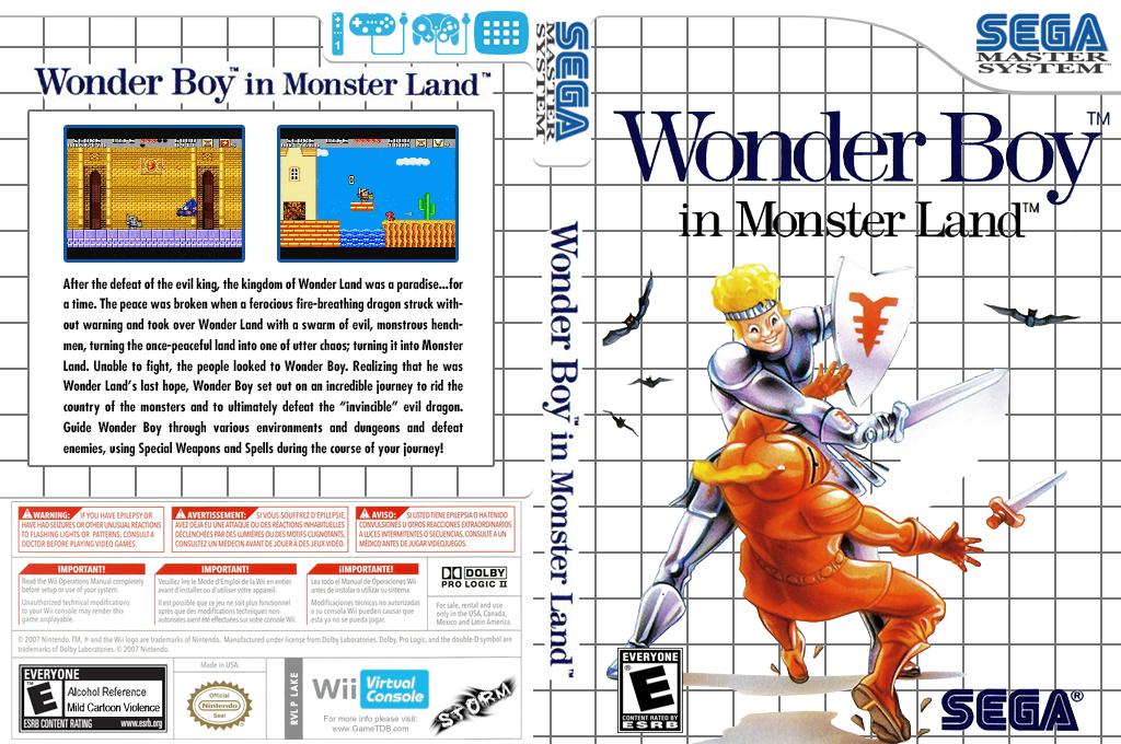 Wonder Boy in Monster Land Wii coverfullHQ (LAKE)