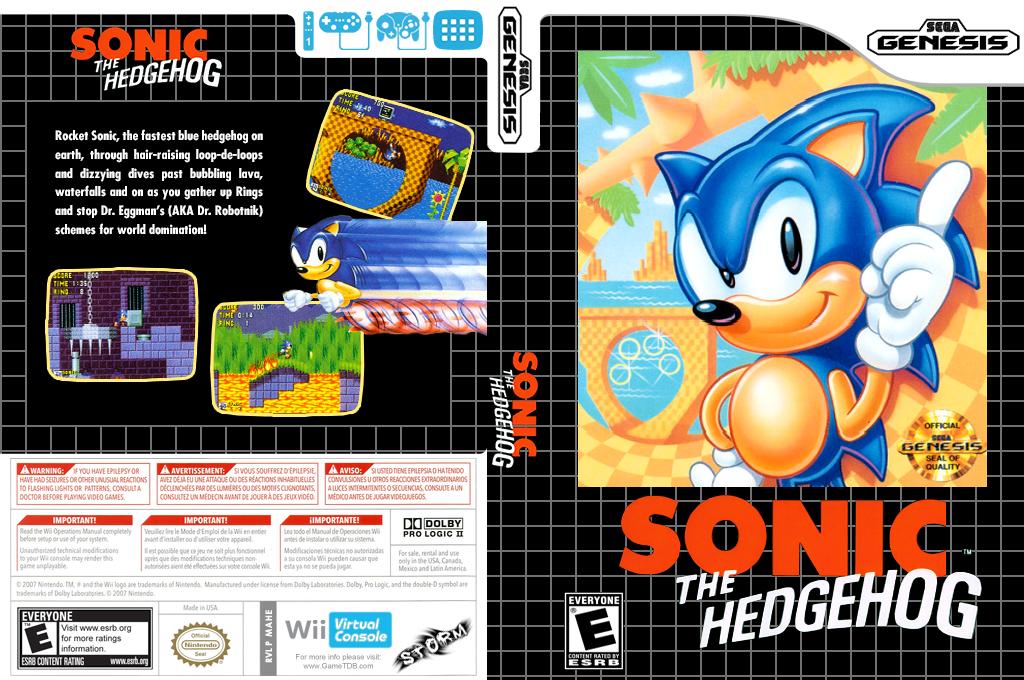 Sonic the Hedgehog Wii coverfullHQ (MAHE)