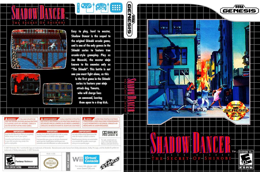 Shadow Dancer: The Secret of Shinobi Wii coverfullHQ (MAKE)