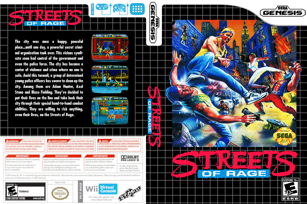 Streets of Rage Wii coverfullHQ (MAQE)