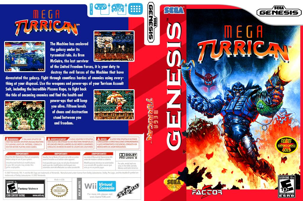 Mega Turrican Wii coverfullHQ (MB7E)