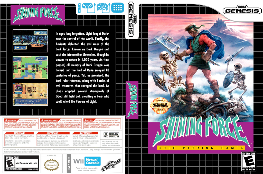 Shining Force Wii coverfullHQ (MBEE)