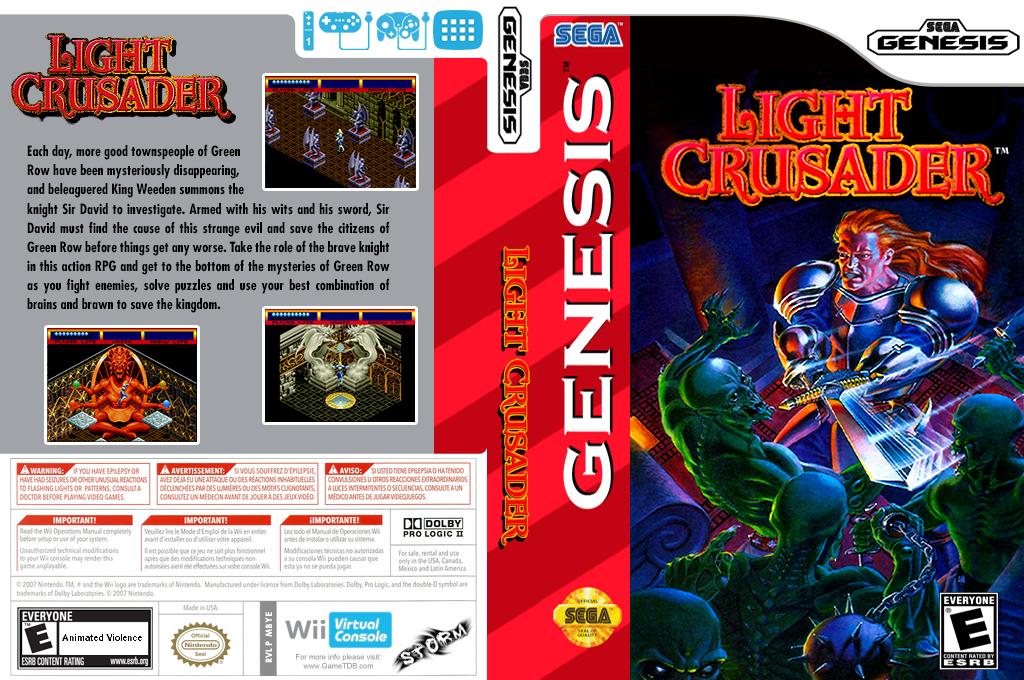 Light Crusader Wii coverfullHQ (MBYE)