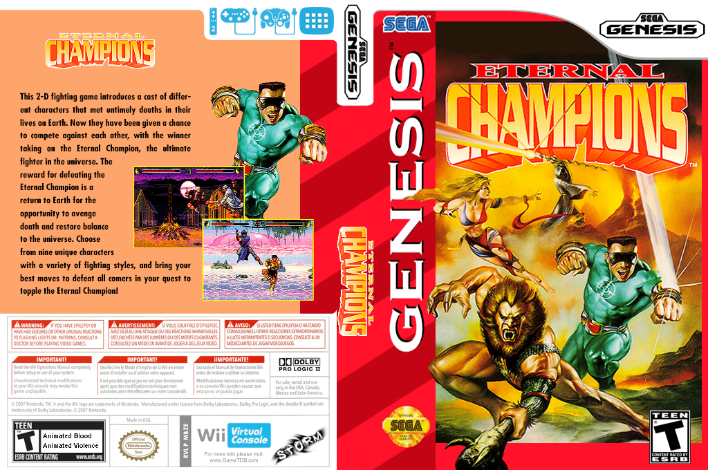 Eternal Champions Wii coverfullHQ (MBZE)