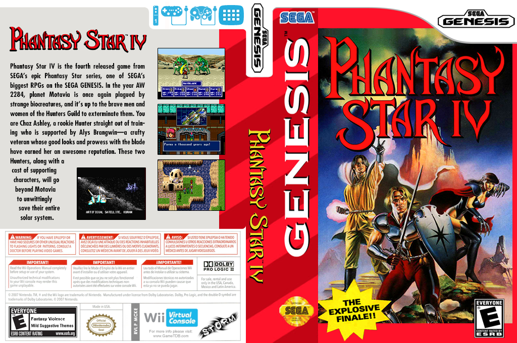 Phantasy Star IV Wii coverfullHQ (MCKE)