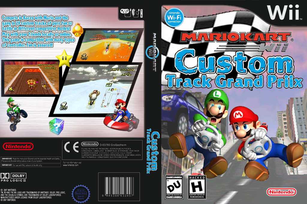 Mario Kart: Track Grand Priix Wii coverfullHQ (MDUE01)