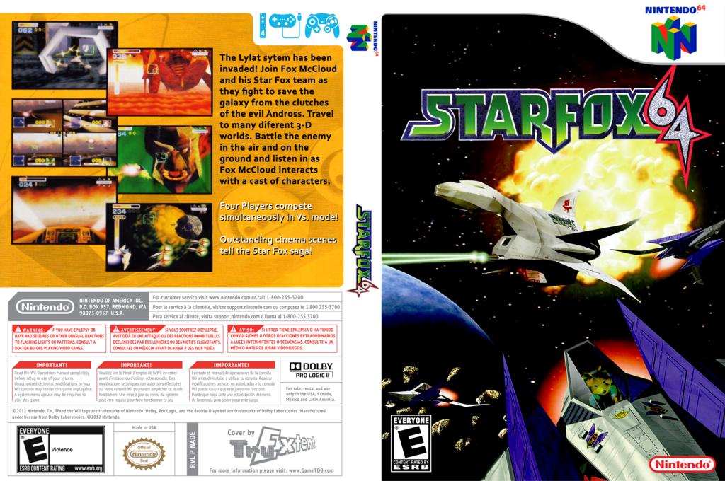 Star Fox 64 Array coverfullHQ (NADE)
