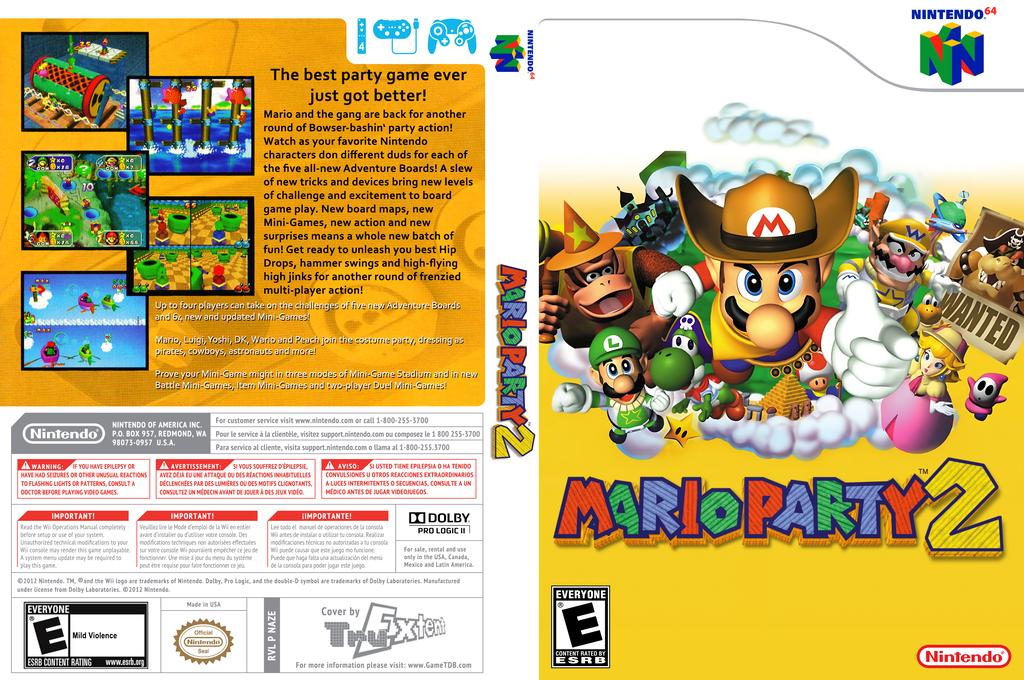 Mario Party 2 Array coverfullHQ (NAZE)
