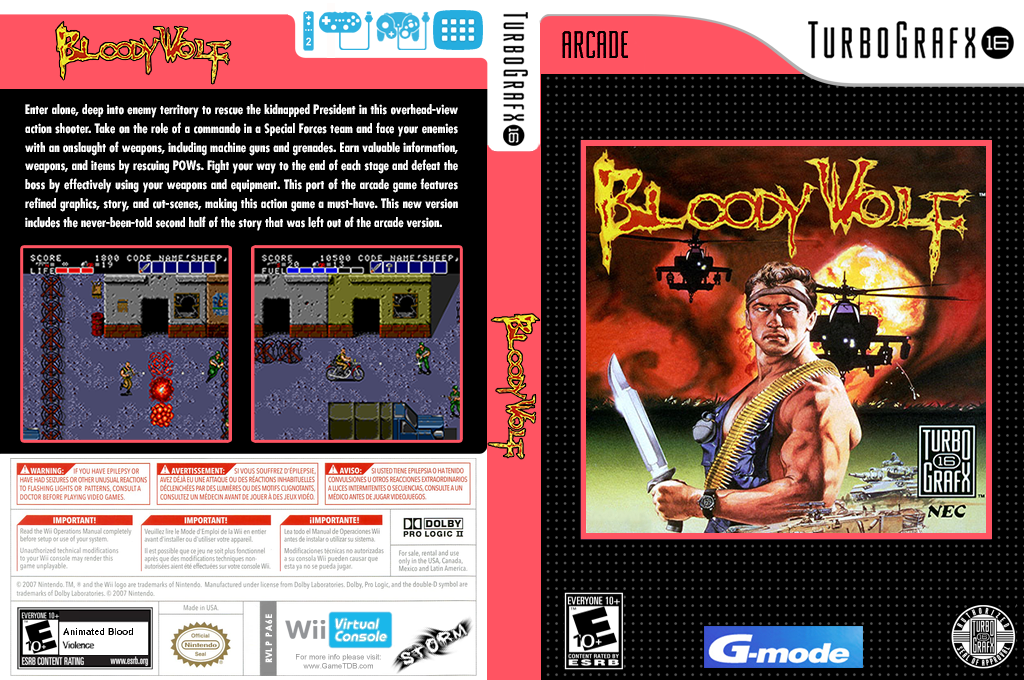 Bloody Wolf Wii coverfullHQ (PA6E)