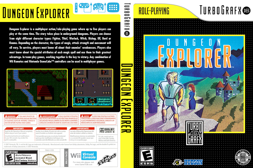 Dungeon Explorer Wii coverfullHQ (PACE)