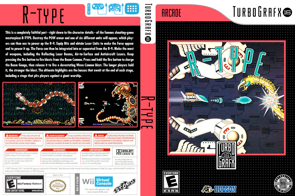 R-Type Wii coverfullHQ (PADE)