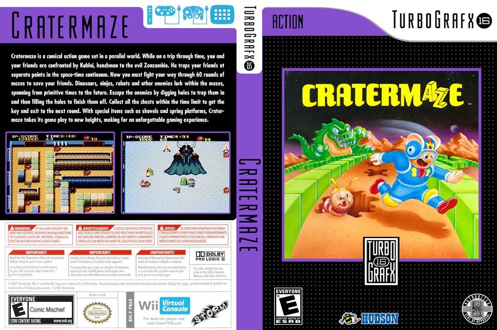 Cratermaze Wii coverfullHQ (PB6E)