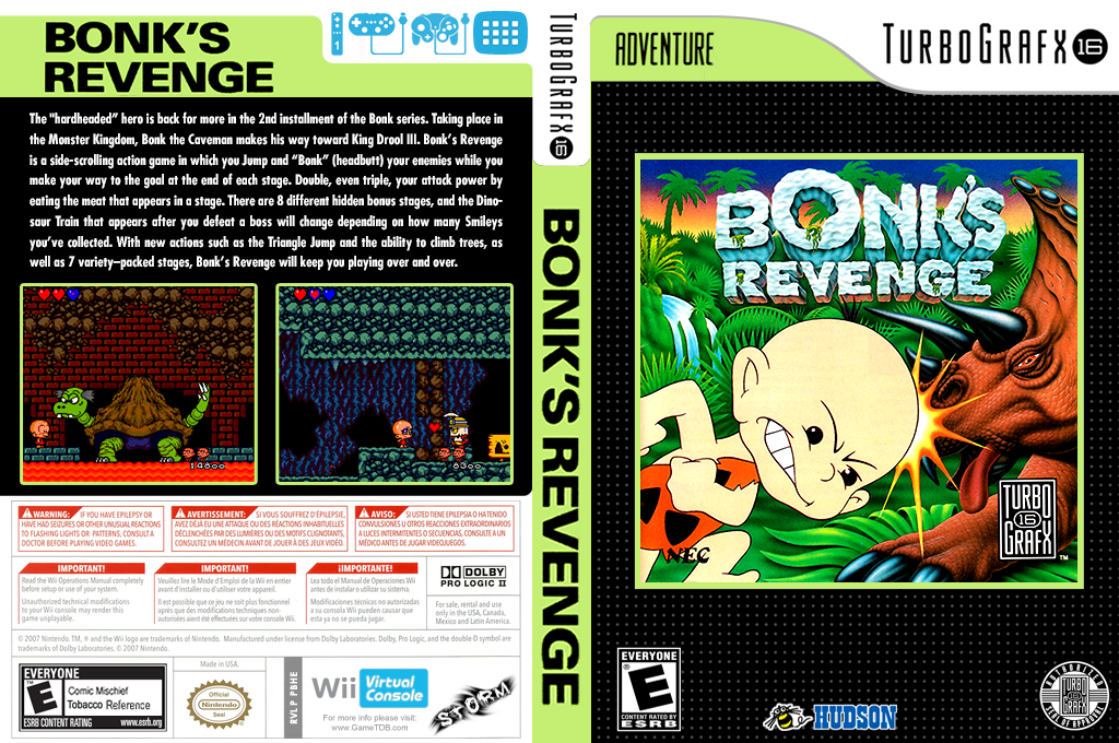 Bonk's Revenge Array coverfullHQ (PBHE)