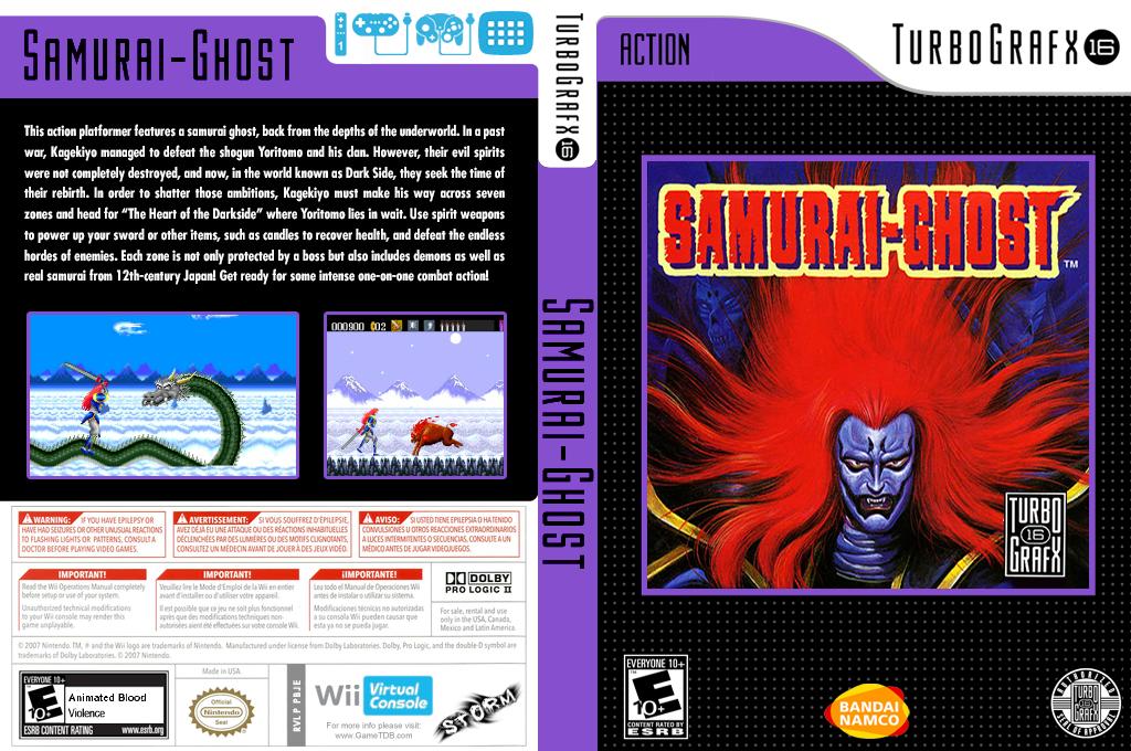 Samurai Ghost Wii coverfullHQ (PBJE)