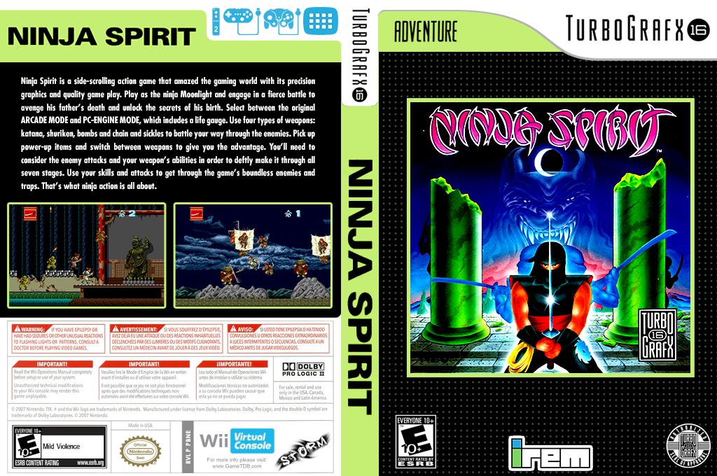 Ninja Spirit Wii coverfullHQ (PBNE)