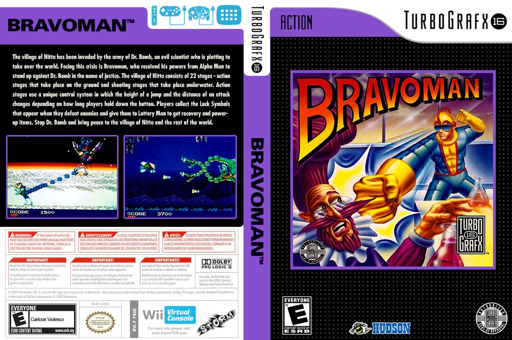 Bravoman Wii coverfullHQ (PBUE)
