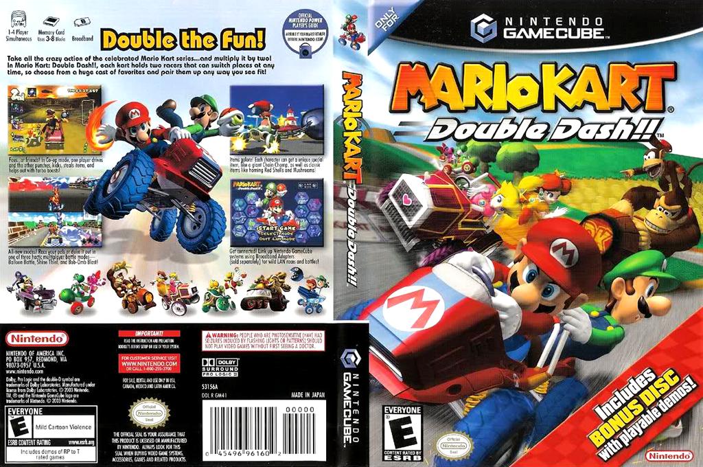 Mario Kart: Double Dash!! Bonus Disc Array coverfullHQ (PM4E01)