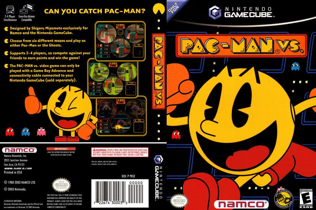 Pac-Man vs. Wii coverfullHQ (PRJE01)